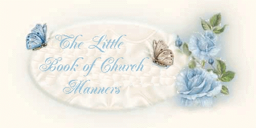 Little Book of Church Manners